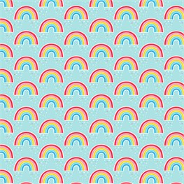 Chasing Rainbows Wrapping Paper