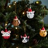 Festive Cat Hanging Bell Decoration Assorted Alternative Image 3