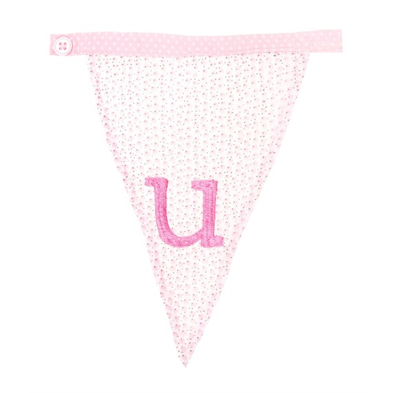 U Ditsy Single Alphabet Bunting