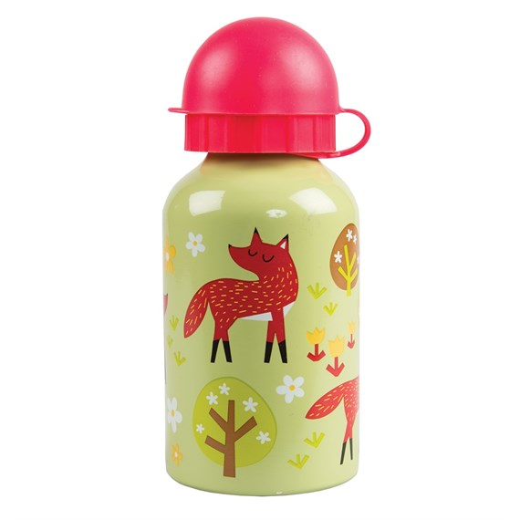Spring Forest Fox Water Bottle