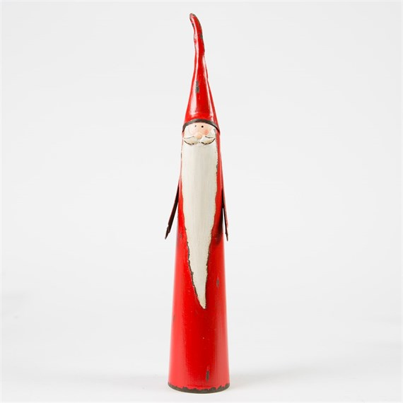 Tall Nordic Santa Standing Decoration