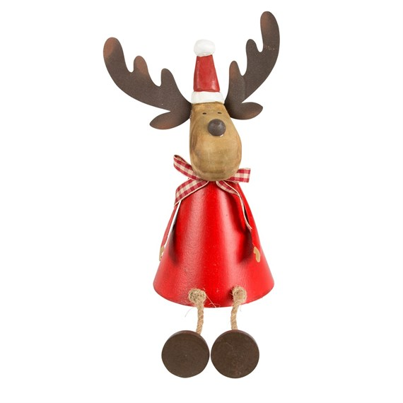Rudi the Reindeer with Wiggly Legs Decoration