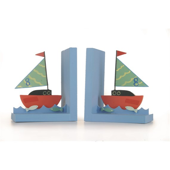 Boats Bookends