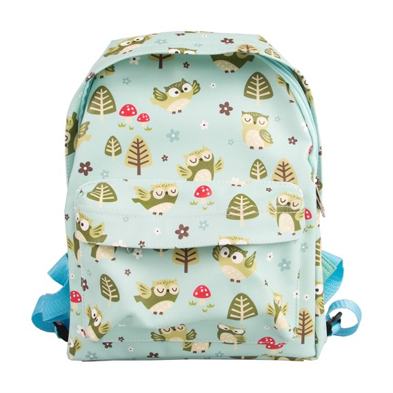 Spring Forest Owl Backpack