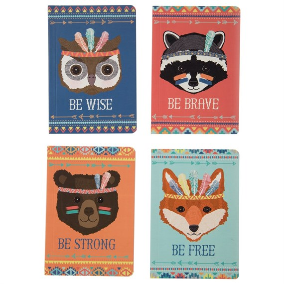 Animal Adventure Pocket Notebook Assorted