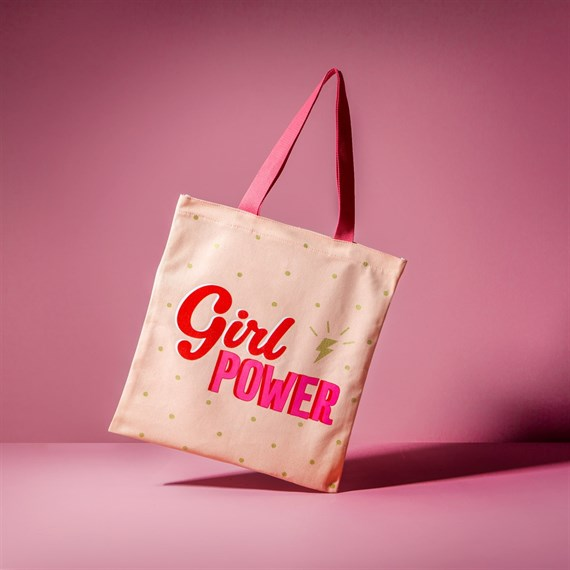 Girl Power Tote Bag