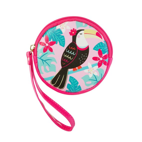 Tiki Toucan Coin Purse
