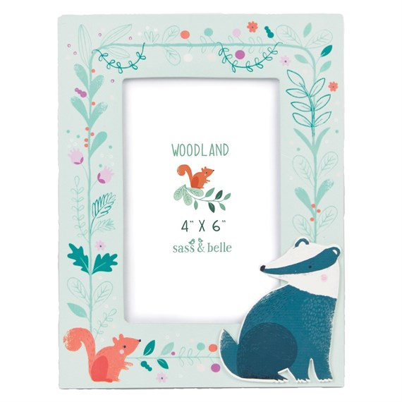 Badger Woodland Friends Photo Frame