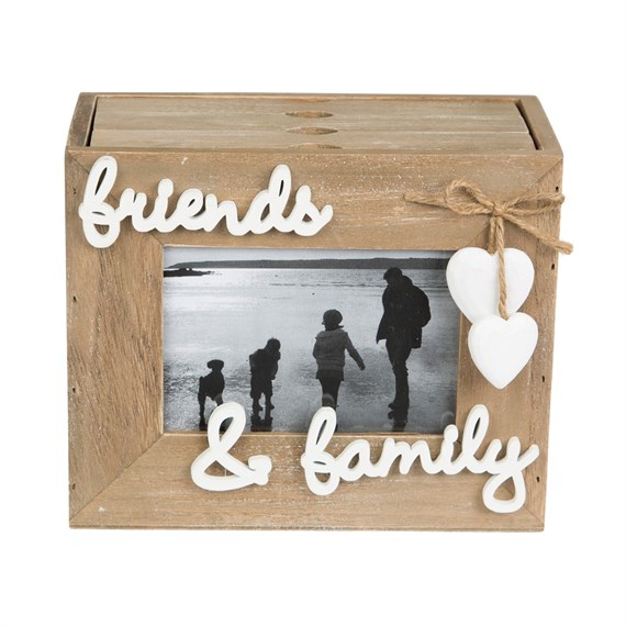 Ashley Farmhouse Friends Family Photo Album with 3 Drawers