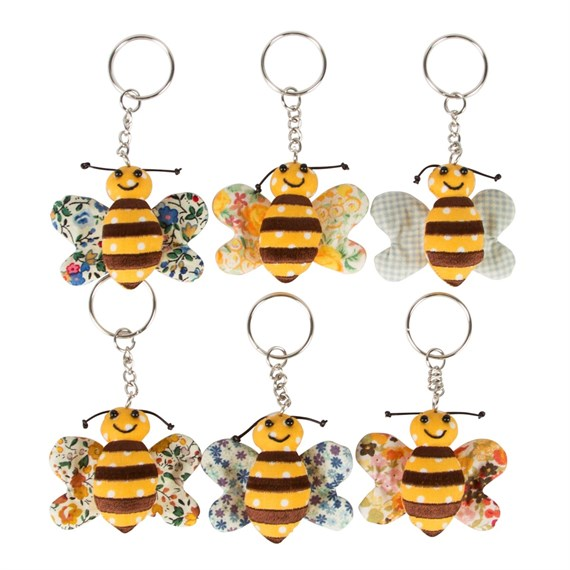 Buzz Bee Keyring Assorted