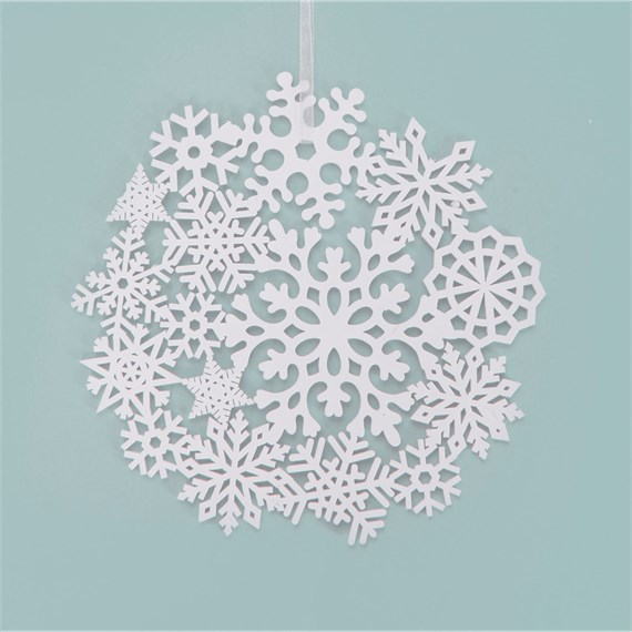 Winter White Snowflake-Small