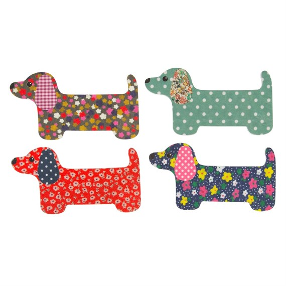 Dachshund Nail File Assorted