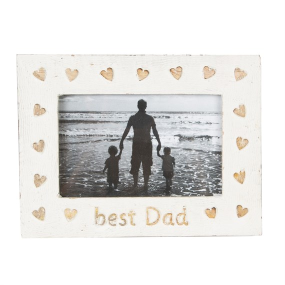 Best Dad Country Charm Photo Frame