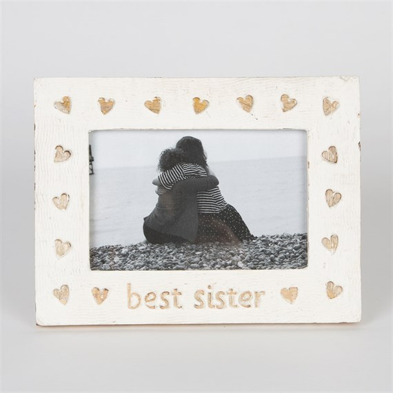 Best Sister Country Charm Photo Frame