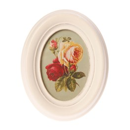 Antique Oval Photo Frame