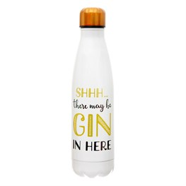 Shhh… There's Gin in here Stainless Steel Water Bottle