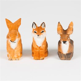 Stag Rabbit Fox Pencil Sharpener Assorted