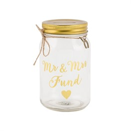 Mr & Mrs Fund Money Jar
