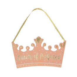 Queen of Prosecco Hanging Plaque