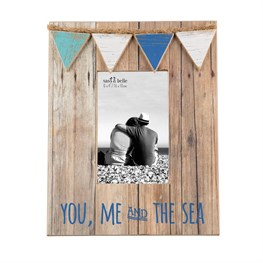 You, Me & The Sea Mini Bunting Photo Frame