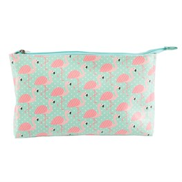 Tropical Flamingo Wash Bag