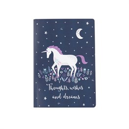 Starlight Unicorn A5 Notebook