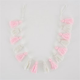 Wonderland Pastel Tassel Garland Decoration