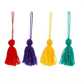 Christmas Fun Tassels - Set of 4