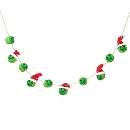 Christmas Sprouts Felt Bunting
