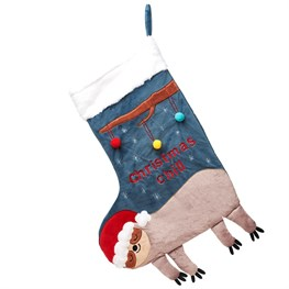 Christmas Chill Sloth Stocking