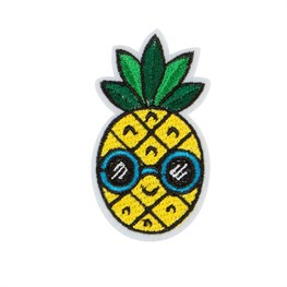Pineapple Sunglasses Iron on Patch Accessory