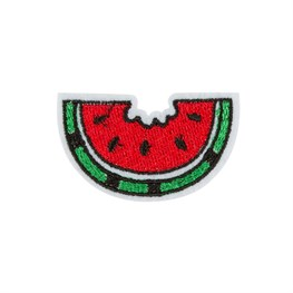 Watermelon Slice Iron on Patch Accessory