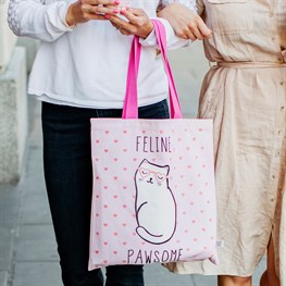 Cutie Cat Tote Bag