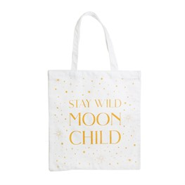 Celestial Moon Child Tote Bag