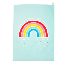 Chasing Rainbows Tea Towel