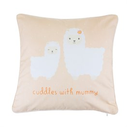 Little Llama Mummy Cuddles Cushion