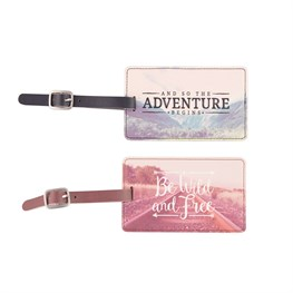 Wanderlust Adventure Luggage Tag Assorted