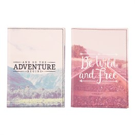 Wanderlust Adventure Passport & Card Holder Assorted