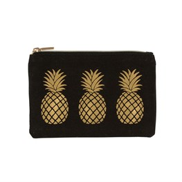 Gold Pineapple Coin Purse