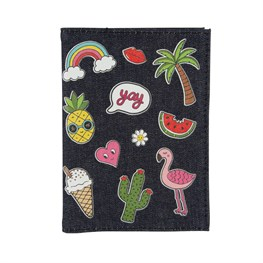 Patches & Pins Passport Cover