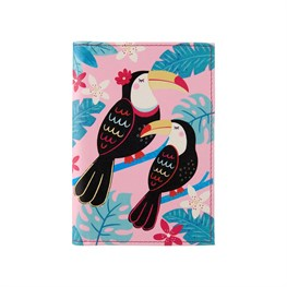 Toucan Passport Holder