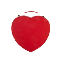 Valentine Heart Shaped Suitcase