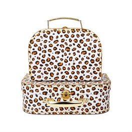 Leopard Love Suitcases - Set of 2
