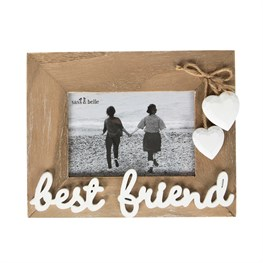 Ashley Farmhouse Best Friend Standing Photo Frame