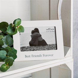 Best Friends Forever Photo Frame White