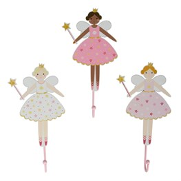 Fairy Wishes Wall Hook Assorted