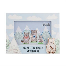 Bear Camp Biggest Adventure Cloud Photo Frame