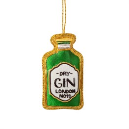 Gin Bottle Zari Embroidery Decoration