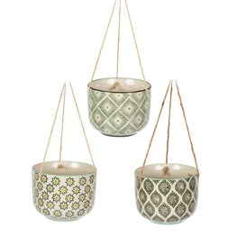 Ria Hanging Planter Assorted