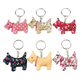Scotch Scottie Keyring Assorted